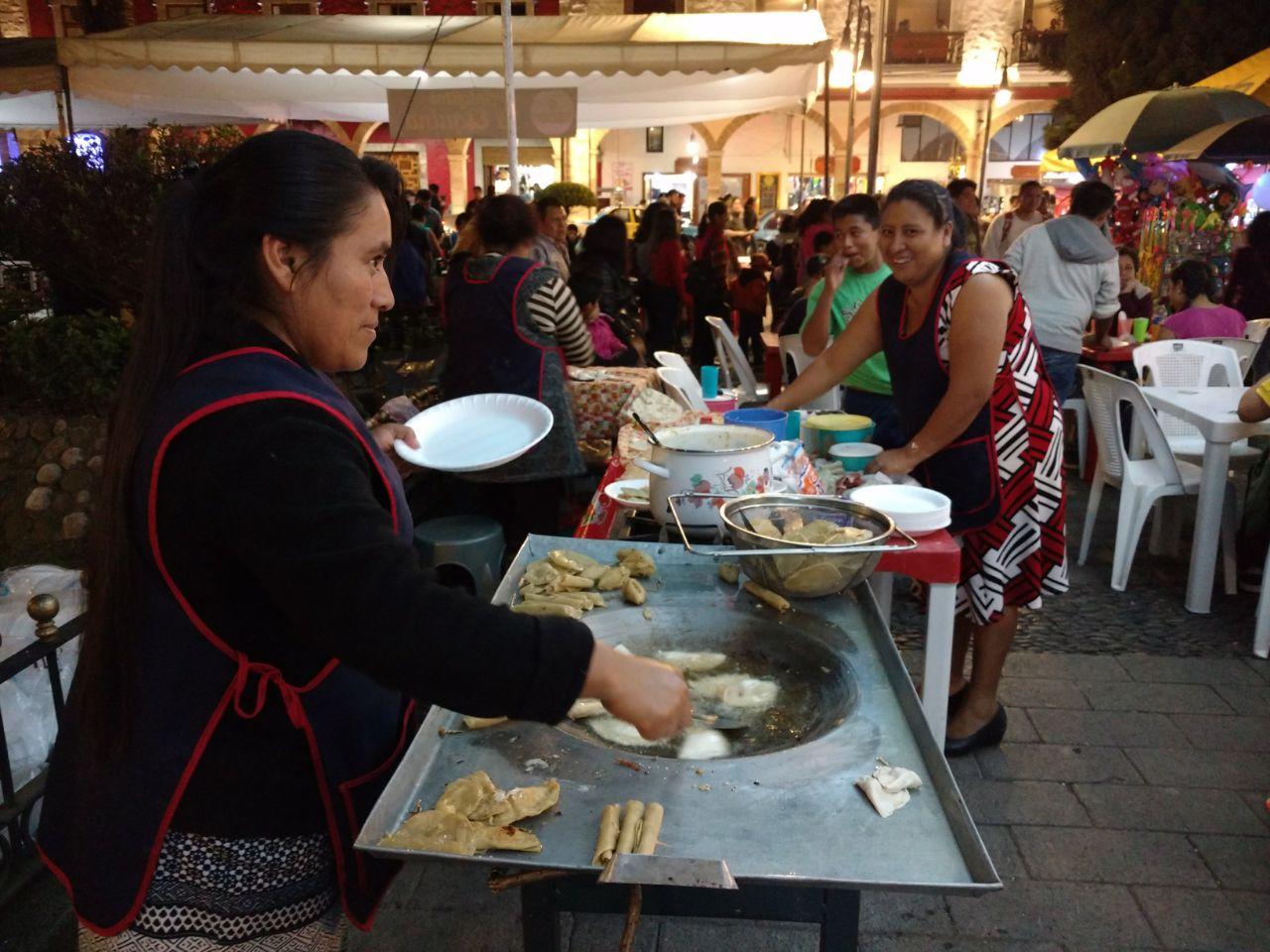 Un gozo antiguo, el Festival de la Enchilada en Huauchinango